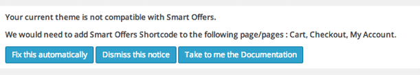Smart Offers is compatible with my Theme