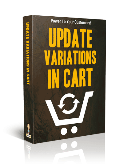 Update Variations In Cart