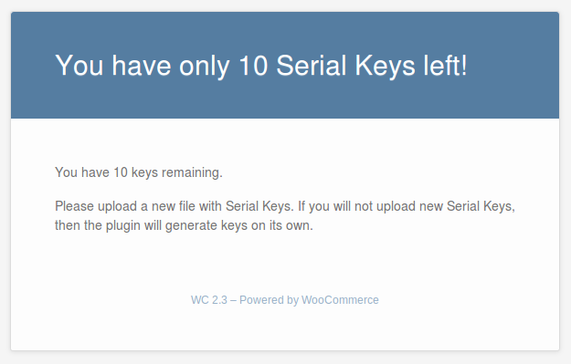 How to Import Serial Keys from CSV file