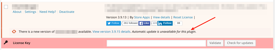 Validate License Key and Enable Auto Updates