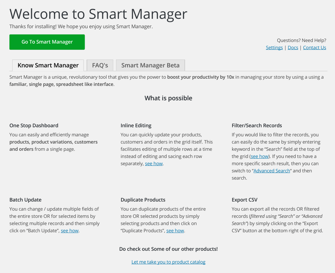 Smart Manager Classic