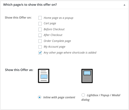 Show upsells using Smart Offers on Custom Thank You Page - so-any-other-page