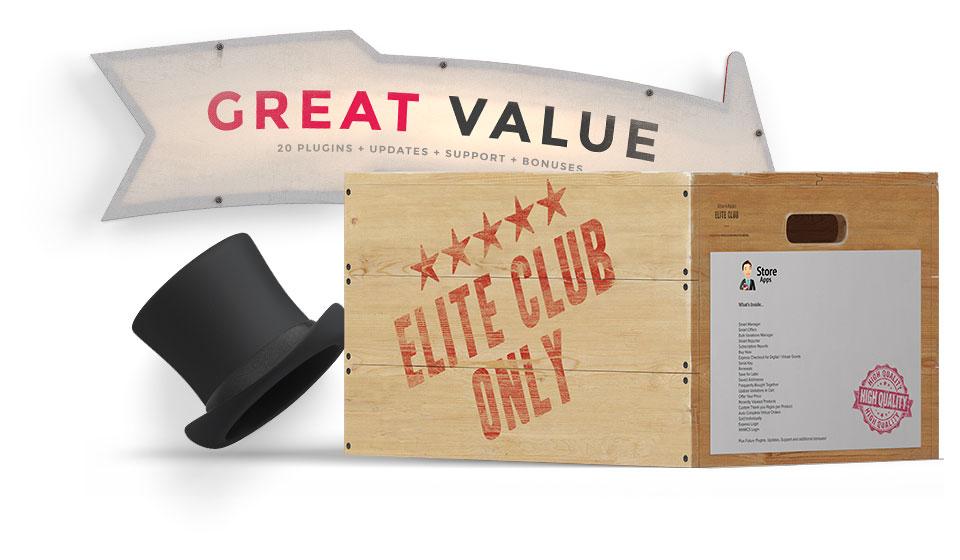 Great Value in Elite Club Membership