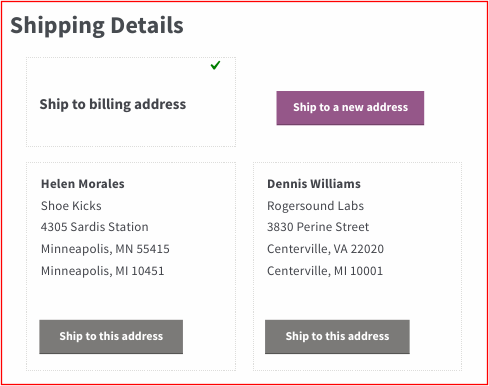 saved addresses for woocommerce storeapps