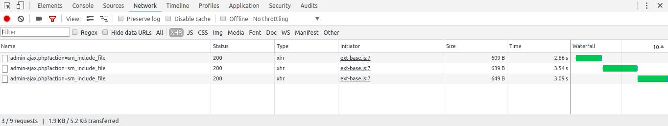 Smart Manager Batch Update Ajax Requests