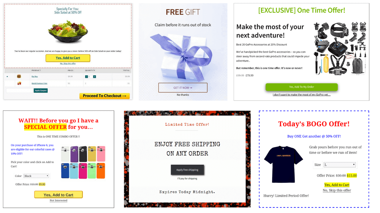 WooCommerce Smart offers collage