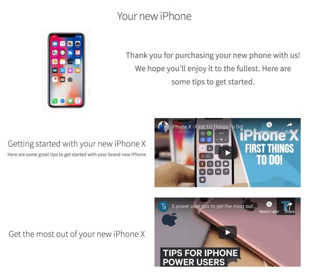 WooCommerce custom thank you page