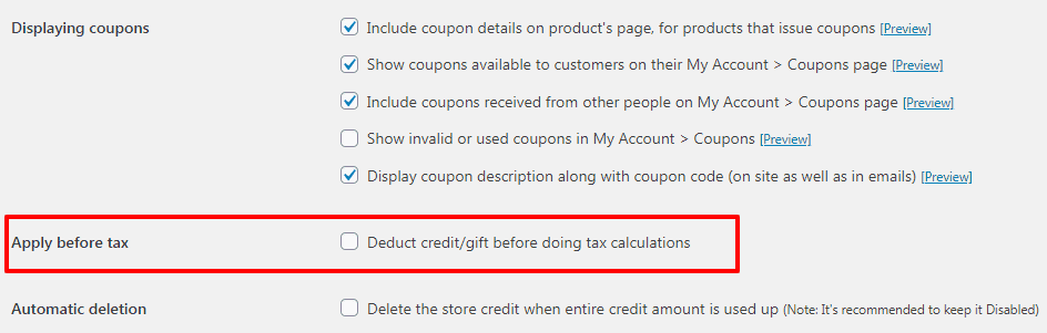 woocommerce gift card shipping cost