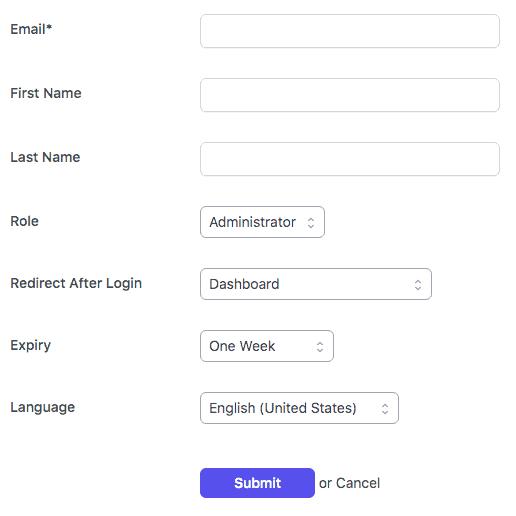 Create login links
